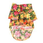 Load image into Gallery viewer, Hawaiian Camp  Dog Shirt - Sunset Hibiscus