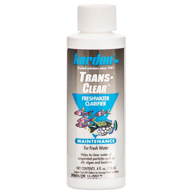 Kordon Transclear Water Clarifier for FreshWater Aquariums 4 oz