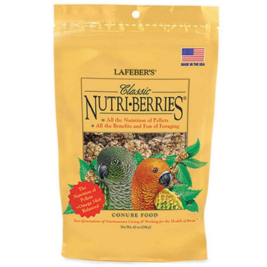 Lafeber Classic Nutri-Berries Conure Food 10 oz