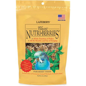 Lafeber Classic Nutri-Berries Parakeet Food - 10 OZ