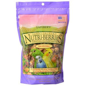 Lafeber Sunny Orchard Nutri-Berries Parakeet, Cockatiel & Conure Food - 10 oz - PetStoreNMore
