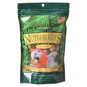 Lafeber Tropical Fruit Nutri-Berries Macaw & Cockatoo Food