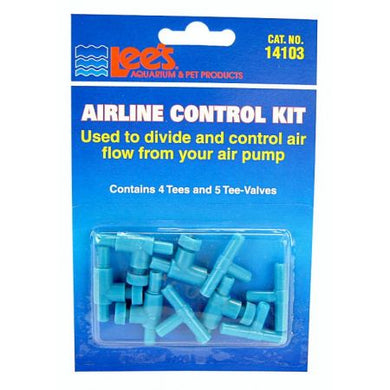 Lees Airline Control Kit with Valves