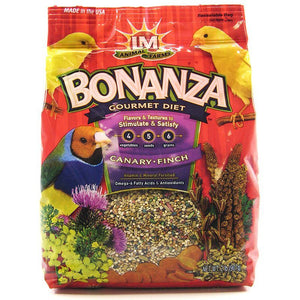LM Animal Farms Bonanza Canary & Finch Gourmet Diet - 2 LBS - PetStoreNMore