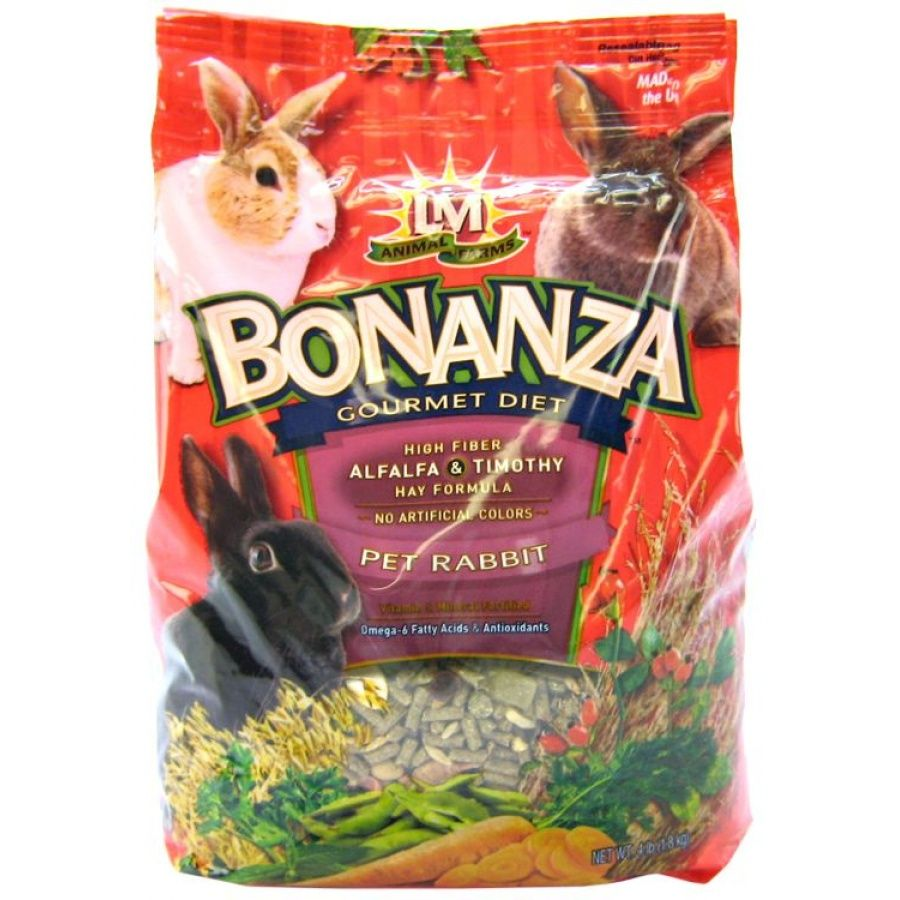 LM Animal Farms Bonanza Rabbit Gourmet Diet - PetStoreNMore
