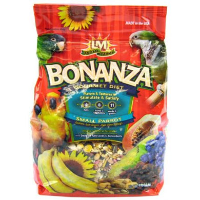 LM Animal Farms Bonanza Small Parrot Gourmet Diet 4lbs - PetStoreNMore