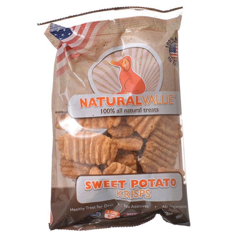 Loving Pets Natural Value Sweet Potato Krisps - 2.5 oz - PetStoreNMore
