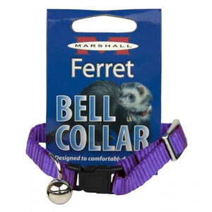 Marshall Ferret Bell Collar - Purple
