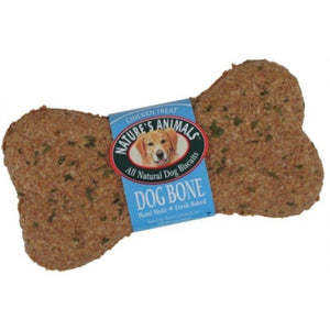 Natures Animals All Natural Dog Bone - Chicken Flavor - 24 Pack - PetStoreNMore