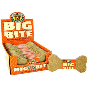 Natures Animals Big Bite Dog Treat - Peanut Butter Flavor - 24 Pack - PetStoreNMore
