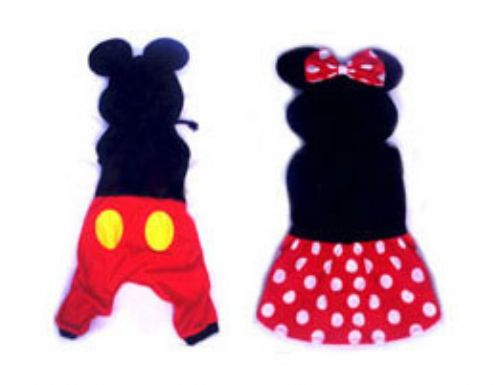 Boy & Girl Mouse Costume