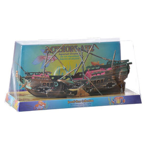 Penn Plax Action Air Shipwreck Aquarium Ornament
