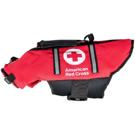 Penn-Plax American Red Cross Dog Life Jacket - PetStoreNMore