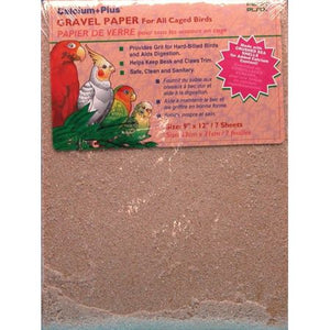 Penn Plax Calcium Plus Gravel Paper for Caged Birds - PetStoreNMore