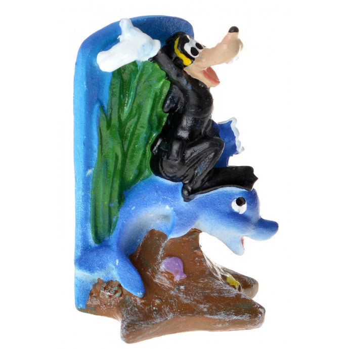 Penn Plax Goofy & Dolphin Resin Ornament