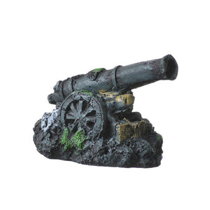 Penn Plax Mini Cannon Aquarium Decor - PetStoreNMore