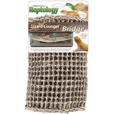 Penn Plax Reptology Lizard-Lounger Bridge - PetStoreNMore