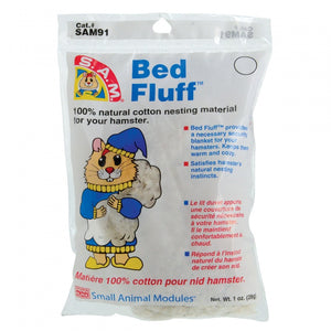 Penn Plax S.A.M. Bed Fluff for Hamsters
