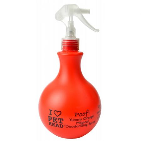Pet Head Poof Magical Deodorizing Spray - Yummy Orange  15.2 oz - PetStoreNMore