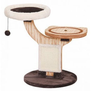 Pet Pals Twine Natural Wood Cat Tree