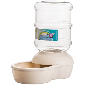 Petmate Le Bistro Gravity Pet Waterer - Linen