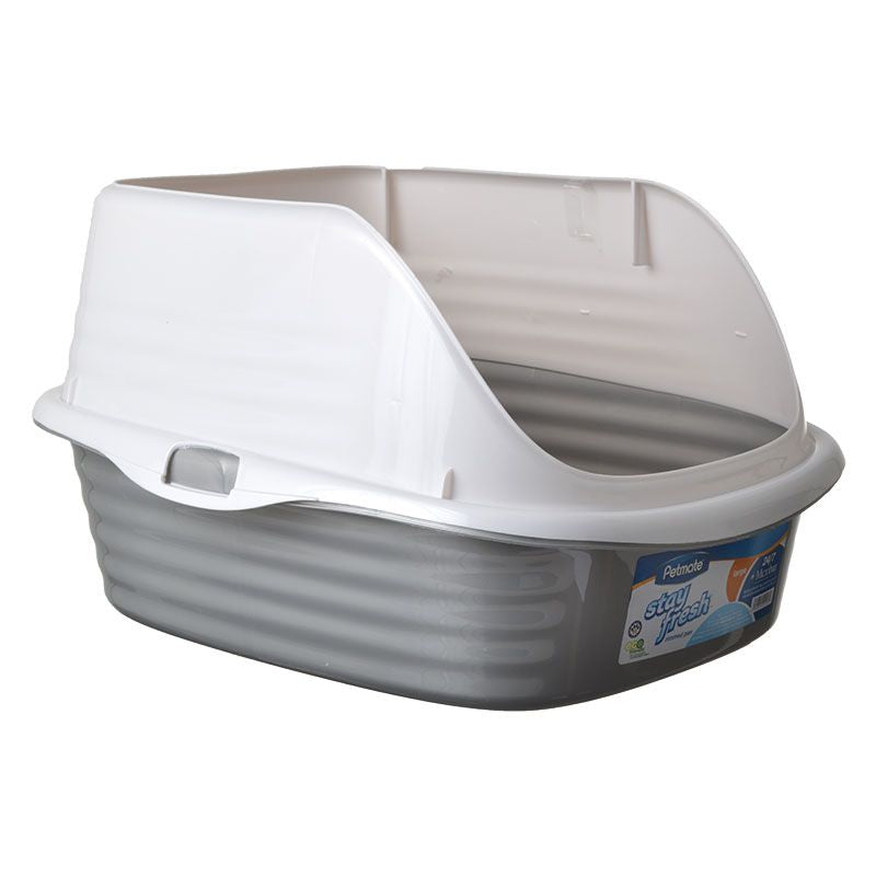 Petmate Litter Pan with Rim - PetStoreNMore