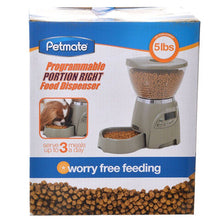 Load image into Gallery viewer, Petmate Programmable Portion Right Pet Feeder