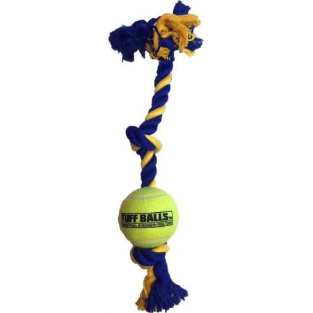 Petsport Mini 3-Knot Cotton Rope with Tuff Ball