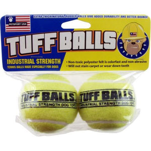 Petsport Tuff Ball Dog Toy - Original 2 Pack