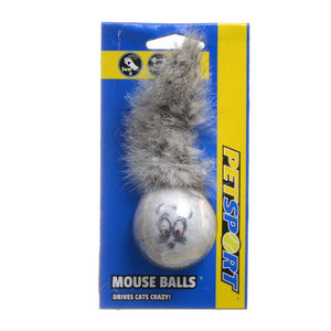 Petsport USA Mouse Ball - Catnip - PetStoreNMore