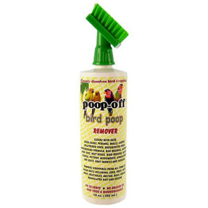 Poop-Off Bird Poop Remover With Brush - PetStoreNMore