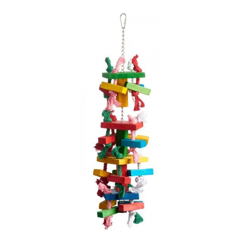 Prevue Bodacious Bites Tower Bird Toy