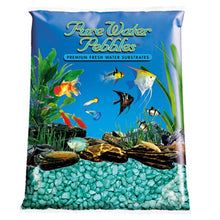 Load image into Gallery viewer, Pure Water Pebbles Aquarium Gravel - Emerald Green Frost