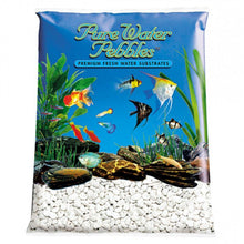Load image into Gallery viewer, Pure Water Pebbles Aquarium Gravel - Platinum White Frost