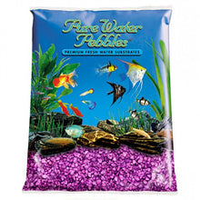 Load image into Gallery viewer, Pure Water Pebbles Aquarium Gravel - Purple Passion