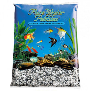 Pure Water Pebbles Aquarium Gravel - Silver Mist