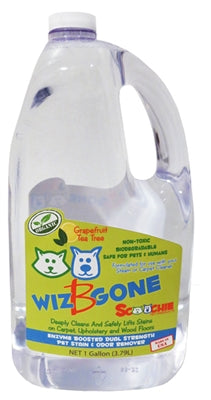 Gallon Wiz B Gone Stain and Odor Remover For Carpet and Upholstery