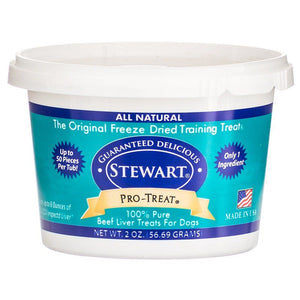 Stewart Pro-Treat 100% Pure Beef Liver for Dogs - PetStoreNMore