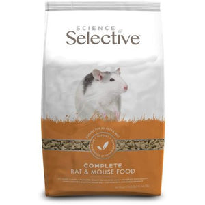 Supreme Science Selective Complete Rat & Mouse Food 4.4 lbs