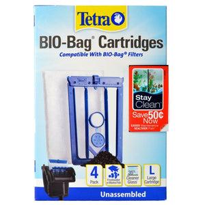 Tetra Bio-Bag Cartridges with StayClean - Large - PetStoreNMore