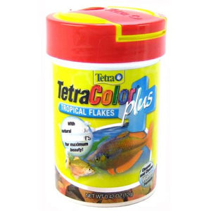 TetraColor Plus Tropical Flakes Fish Food