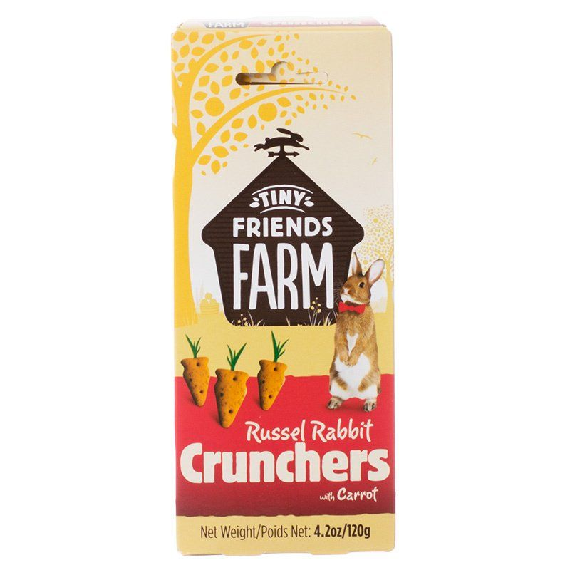 Tiny Friends Farm Russel Rabbit Crunchers with Carrot 4.2 oz