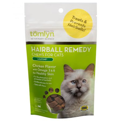 Tomlyn Hairball Remedy Chews for Cats