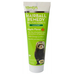 Tomlyn Laxatone Hairball Remedy Gel for Ferrets - Maple Flavor 2.5 oz