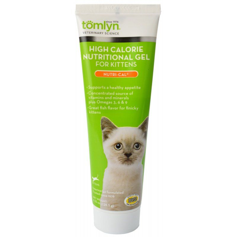 Tomlyn Nutri-Cal High Calorie Nutritional Gel for Kittens  4.25 oz