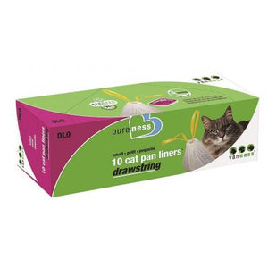 Van Ness Drawstring Cat Pan Liners
