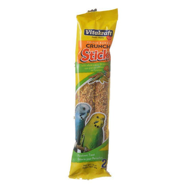 Vitakraft Crunch Sticks Parakeet Treat - Orange & Apricot Flavor - PetStoreNMore