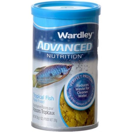 Wardley Advanced Nutrition Tropical Fish Food Flakes