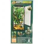 Load image into Gallery viewer, Zoo Med Reptibreeze Open Air Aluminum Screen Cage - Black - Reptile - PetStoreNMore