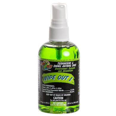 Zoo Med Wipe Out 1 - Small Animal & Reptile Terrarium Cleaner - PetStoreNMore